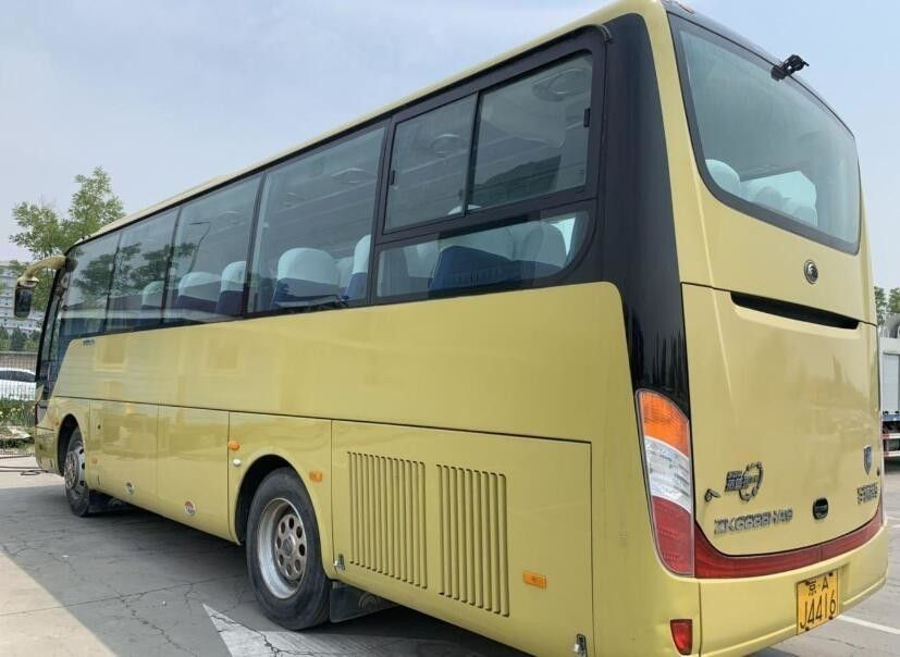 Yutong Used Luxury Buses , Diesel Second Hand Buses And